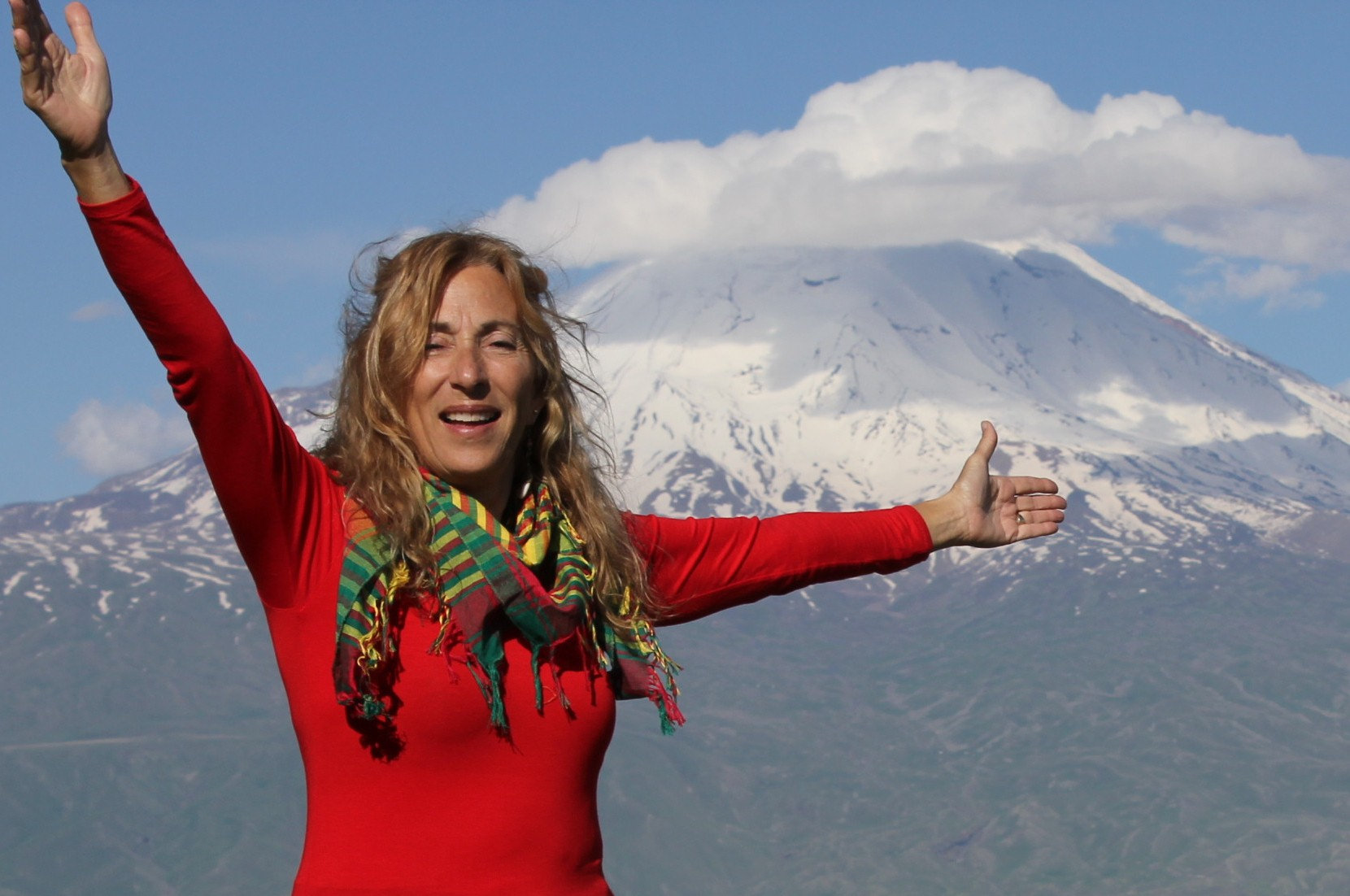 Amy Beam Mount Ararat excursion