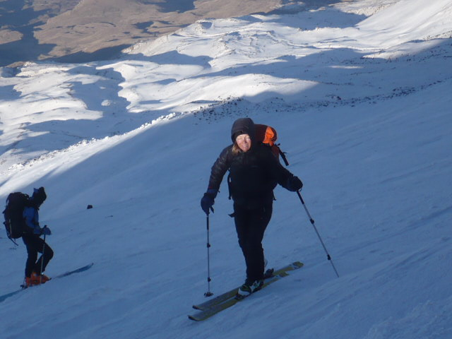 March - April best spring skiing on Mount Ararat