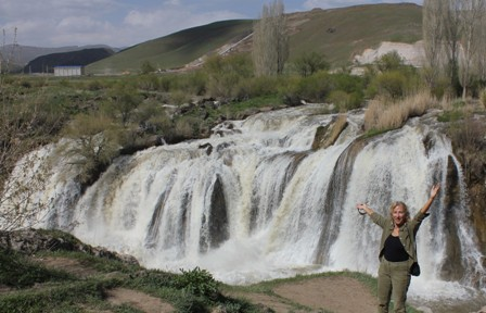 Muradiye Waterfalls en route from Van to Dogubayazit